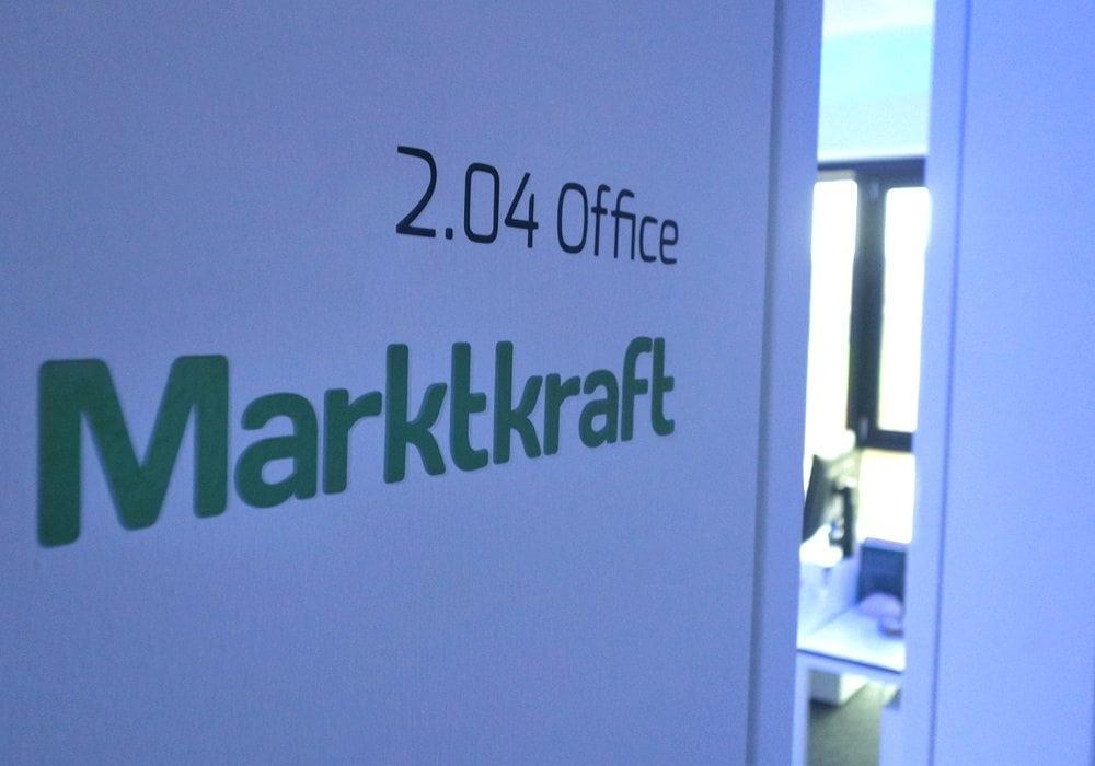 Eingang Marktkraft Büro